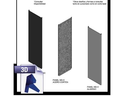 BIM Panel MD-H Metaldesign