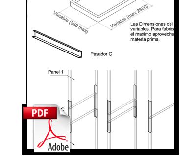 BIM Panel MD-L Metaldesign