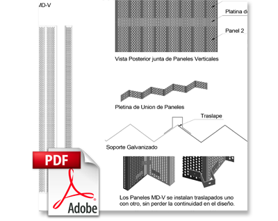 BIM Panel MD-V Metaldesign