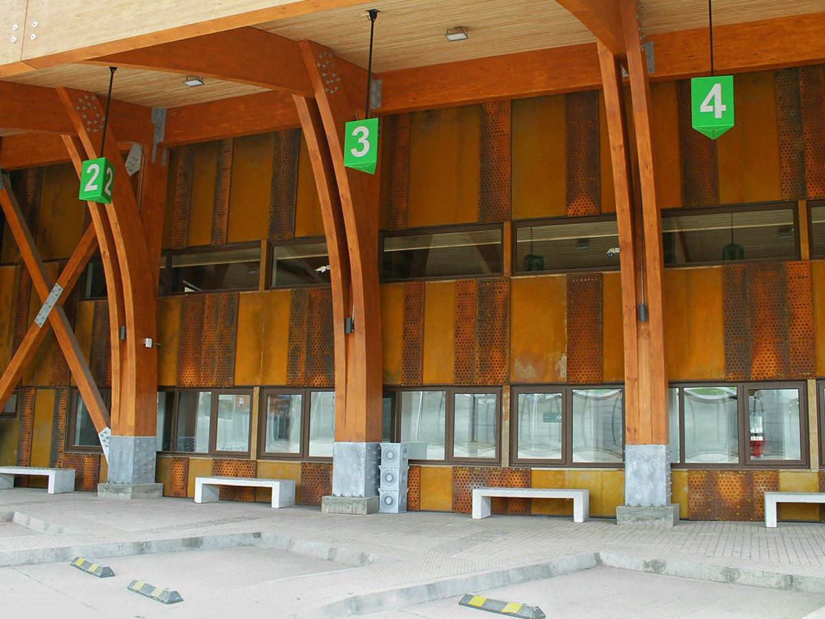 TERMINAL MUNICIPAL DE BUSES DE COYHAIQUE